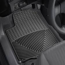 2013 Chevy Impala Floor Mats by Weathertech W31 All Weather 1st Row Black Floor Mats