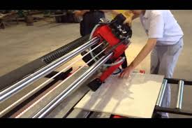 tile cutter and cutting machine for marble and granite