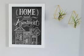 HOME SWEET APARTMENT PRINT Nine Space