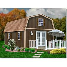 10x12 Barn Shed Kit by Best Barns Cambridge 10x12 Wood Storage Shed Kit Cambridge1012