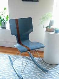 Decor Payless Furniture Beautiful Plastic Chair In Blue Color
