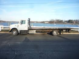 USED 2000 INTERNATIONAL 4700 ROLLBACK TOW TRUCK FOR SALE IN IN NEW ...