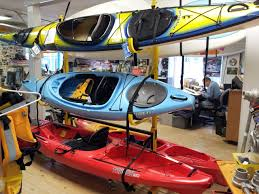 Kayak Ceiling Hoist Nz by Freestanding 3 Boat Kayak Rack Suspenz Deluxe Storeyourboard Com