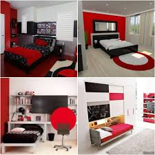 100 Interior Design Kids Elegant Bedrooms In Red And Black Best