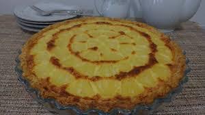 dessert ananas noix de coco tarte hawaïenne ananas noix de coco gâteaux délices