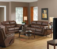 Dark Brown Leather Couch Living Room Ideas by Living Room Beautiful Living Room Decoration Using Dark Brown