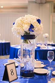 Royal Blue And Silver Wedding Decor Theme Decorations