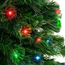 Black Fiber Optic Christmas Tree 7ft by 7ft Fiber Optic Artificial Christmas Tree W Ul Certified Lights