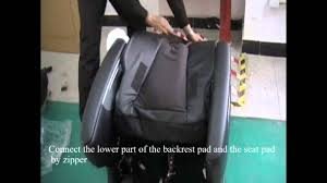 Cozzia Massage Chair 16027 by Cozzia 16018 Installation Manual Video Youtube