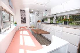 Skoolie Conversion Floor Plan by Skoolie Homes