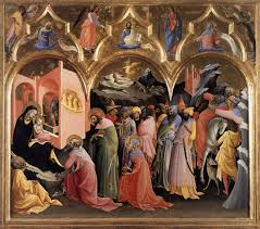 San Bartolo Murals National Geographic by Lorenzo Monaco Adoration Of The Magi C 1420 22 Uffizi