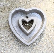 coeur de en pot 052836 ciment de l usine de céramique meaty pot de fleurs en forme