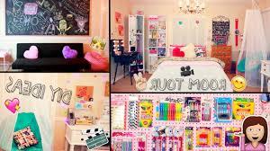 Teens Room Tour 2015 Diy Desk Decor Ideas And Organization Inside