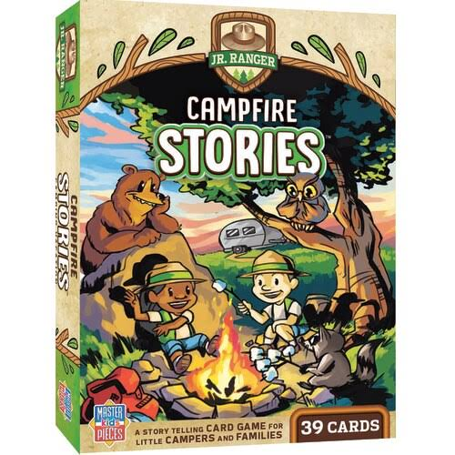 National Parks Jr Ranger Campfire Stories Card Game