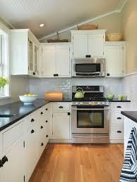 white cabinet dark countertop houzz