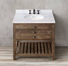 Restoration Hardware Bathroom Vanity Single Sink by Printmaker U0027s Single Vanity Sink Restoration Hardware 36 24 33