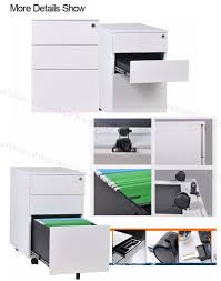 Three Drawer Filing Cabinet Dimensions by Customized Dimensions 2 Drawer Mobile Pedestal File Cabinet With