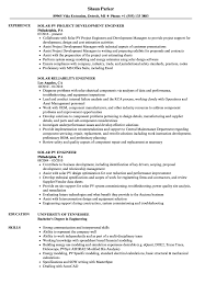 Download Solar Engineer Resume Sample As Image File