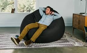 Cocoon Giant Bean Bag Lounger - Denim | Jaxx Bean Bags