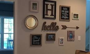 Inspiring Ideas Hallway Wall Decor With Lovely Decoration Perfect For My Long Narrow Maybe Decorating A Large