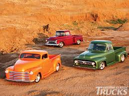 1953 Ford F-100, 1957 Chevrolet, & 1948 Chevrolet Trucks - Hot Rod ...