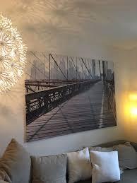 ikea leinwandbild 200x140cm bridge in 80803 münchen