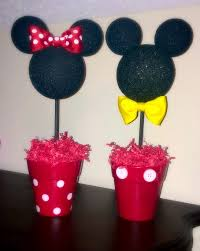 Mickey And Minnie Bathroom Accessories by Mickey And Minnie Inspired Centerpiece Minnie And Mickey