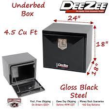 DB-2600 DEE ZEE Underbody Truck Tool Box Black Steel 24