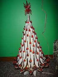 Vintage Atlantic Mold Ceramic Christmas Tree by 63 Best Ceramic Kitchmas Trees Images On Pinterest Retro