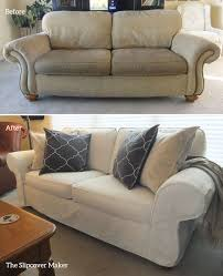 Slipcover Makeover For Flexsteel Furniture | Upholstery ... Ding Room Chair Slipcovers And Also Wingback My Living Room Is A Mess But I Cant Afford New Upholstery Slipcovers For Chairs That Embellish Your Usual How To Make A Custom Chair Slipcover Hgtv Buy Covers Online At Overstock Our Best Fresh Ideas Folding Box Cushion Carmel Sofa Sofas Sleepers Gus Modern Updated La Dream Kinda Marges Home Ask The Audience Go With My New Ding Table Teresting Cover Chaircovers