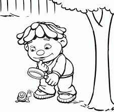 Sid The Science Kid Coloring Page And Pages
