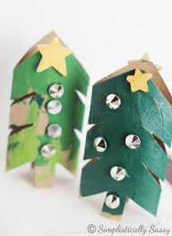 Toilet Paper Roll Crafts Christmas Tree 1