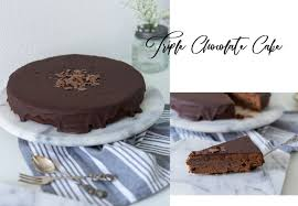 chocolate cake leckerer schokoladenkuchen