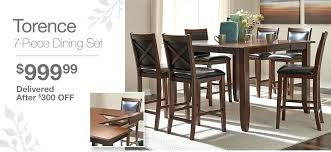 Dining Room Table And Chairs Ikea Uk by Dining Room Table Chair 7 Piece Dining Set Delivered After Off