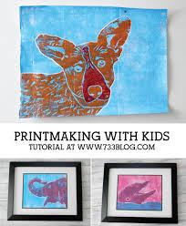 Printmaking with Kids