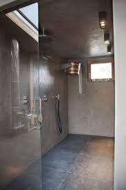 bäder fugenlos dusche ohne fliesen ideen wandputz