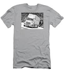 100 Mvt Trucking Ink Pen Photoart TShirt For Sale By Walter Herrit