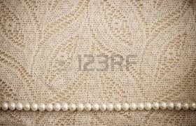 Lace And Pearls Vintage Background Stock Photo Picture Royalty Free Image 12714819