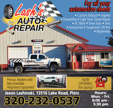100 Ad Lift Truck For All Your Automotive Needs Lashs Auto Repair Pierz MN