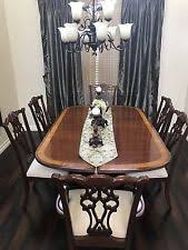 Ethan Allen Mahogany Dining Room Table by Ethan Allen Mahogany Furniture Ebay