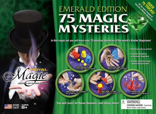 (Emerald Kit) - Royal Magic Jewels of Magic Emerald Edition Magic Set