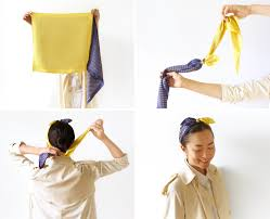 how to tie a scarf like a french u2014 vogue vogue