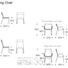 Splendid Ideas Dining Room Chair Dimensions Standard With Fine Width Measurements A