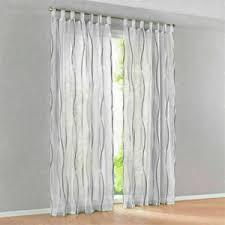 details zu gardinen modern vorhänge dekogardinen fenstergardine schals wohnzimmer grau