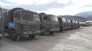 German Army Donates More Military Trucks & Equipments To The Kosovo ...