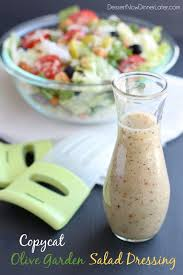 Copycat Olive Garden Salad Dressing Video Dessert Now