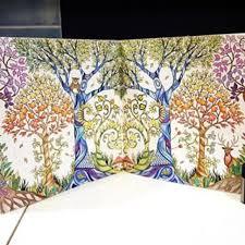 PO Enchanted Forest Colouring Book Korean