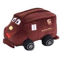 100 Ups Truck Toy UNITED PARCEL SERVICE UPS 9 PLUSH STUFFED ANIMAL PACKAGE CAR TRUCK