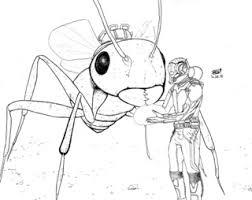 Inktober Day 29 The Astonishing Ant Man Think Im Going To