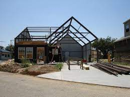 104 Homes Made Of Steel 900 House Ideas In 2021 House Frame House